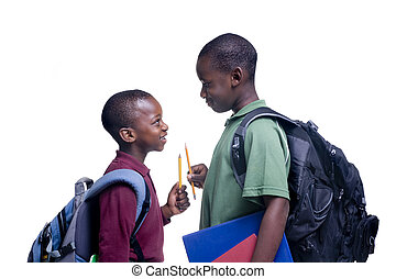 Afrikanische amerikanische Studenten