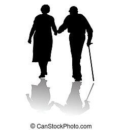 Alte Leute