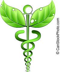 alternative, vektor, symbol, medizinprodukt