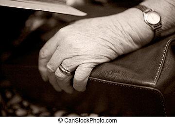 altes , hand