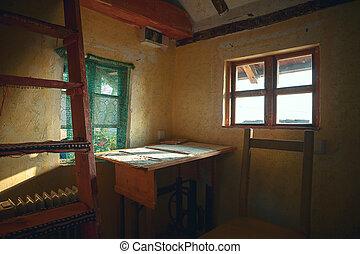 Altes Holzhaus.