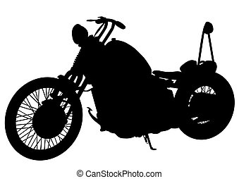 Altes Motorrad.