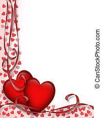 Am Valentinstag kommen rote Herzen an