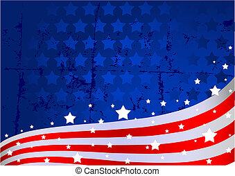 Amerikanischer Flaggen Hintergrund