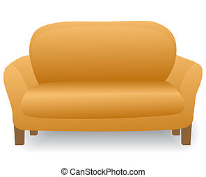 Angenehmes Heim, modernes Sofa