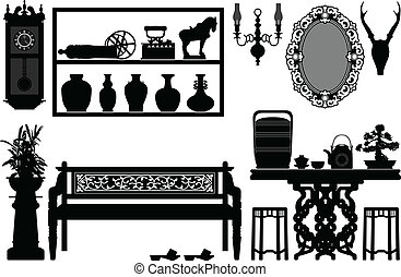 antikes , traditionelle , altes , möbel
