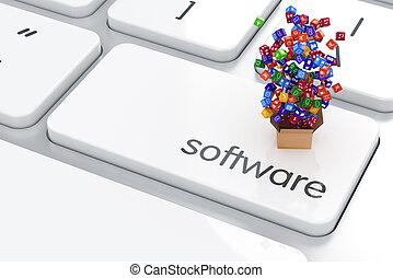anwendung, software, storagel