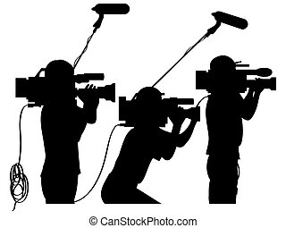arbeit, kameramänner