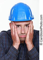 Arbeiter unter Druck