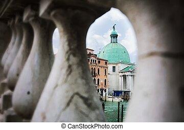 Architektur in Venedig.