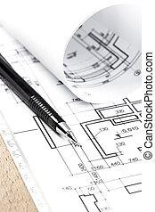 Architekturentzug und Instrumente
