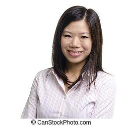 Asiatische Bildung / Geschäftsfrau
