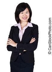 Asiatische Geschäftsfrauen.