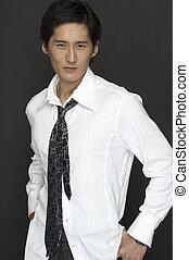 Asiatisches Modell.