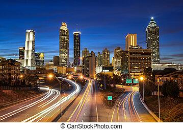 Atlanta Downtown Skyline.