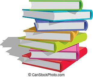 Bücher stapeln