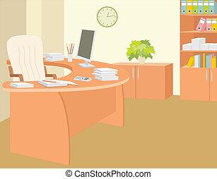 Büro des Direktors.