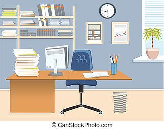 Büroraum.