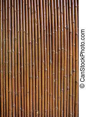 Bambuswand Hintergrund.