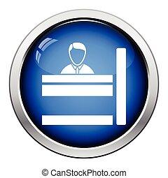 Bankangestellte Ikone