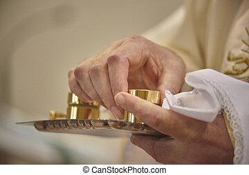 baptism., öle