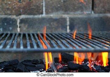 Bar B b-quee Barbecue-Feuer, Kohlen-Feuer-Grill