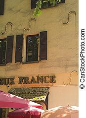 bar, franzoesisch