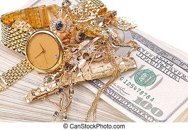 bargeld, gold