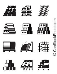 bauen konstruktion, materialien