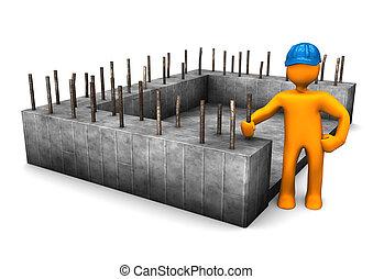 Bauingenieur der Stiftung