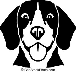 Beagle Kopf.