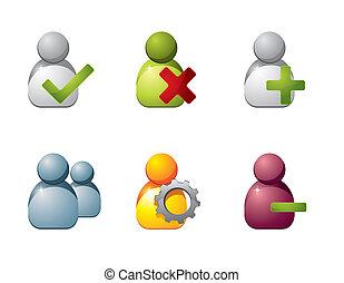 Benutze Ikonen für Web