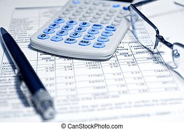bericht, -, begriff, finanziell, geschaeftswelt