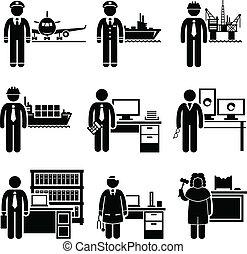 Berufliche hohe Einkommen