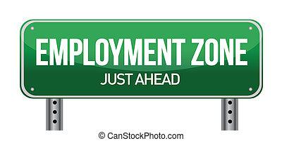 """""""Beschäftigungszone grüner Straßen"""