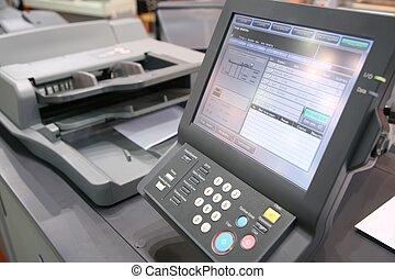 Bild der gedruckten Ausrüstung