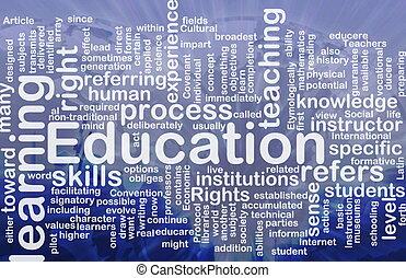 Bildungshintergrundkonzept