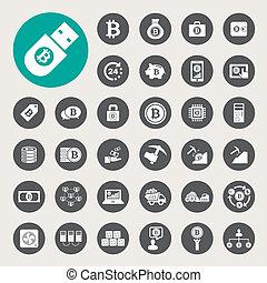 Bitcoin Icons eingestellt