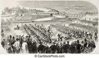 Blanville Militärparade