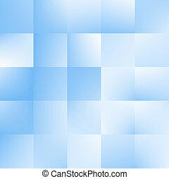 Blauer Hintergrund mit Quadraten