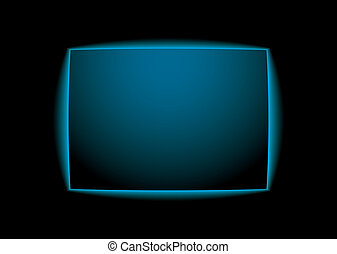 Blauer leuchtender Hintergrund