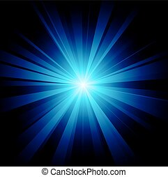 blaues, bersten, farbe, vektor, design, datei, included
