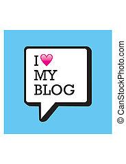 blog, blase, mein, liebe