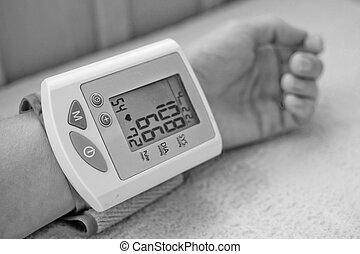 Blutdruck.