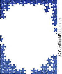 Border-Puzzle-Schrift