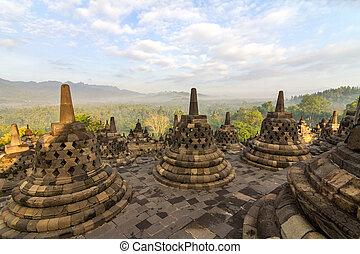 Borobudur-Tempel in Indonesien