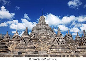 Borobudur Tempel Indonesien.