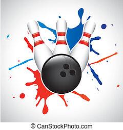 Bowling-Spritze