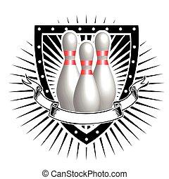 Bowlingschild.