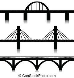 Brücken bereit.